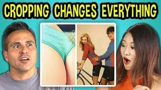 10 PHOTOS WHERE CROPPING CHANGES EVERYTHING w/ Adults (REACT)