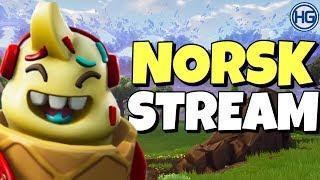 ????GÅR FOR WINS! // NYTT SKIN! // Creator Code: HIGHGROUND // Norsk Fortnite Stream