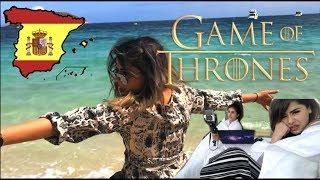 Spain Vlog- Game of Thrones (Beach Edition)! | Browngirlproblems1