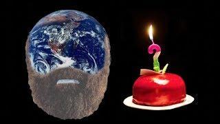 ¿Cómo se sabe la edad de la Tierra?