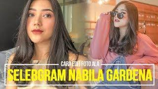 Cara Edit Foto Ala Selebgram Nabila Gardena | Lightroom Tutorial