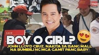 Boy o Girl? John Lloyd Cruz, Nakita Sa Isang Mall Na Bumibili Ng Mga Gamit Pang Baby