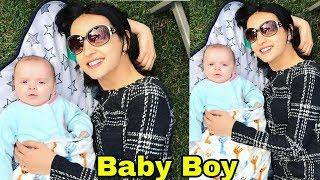 Shocking : Tv Actress Sanaya Irani BLESSED WITH BABY BOY |First Look