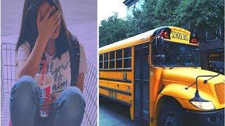 Young Girl Gets Period On Bus Then Teen Boy Approaches Her Whispering Remark Going Viral