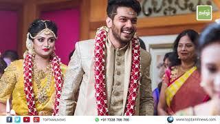 நடிகர் ஆர்யா தம்பி சத்யாவின் திருமண ஆல்பம் | Arya brother's wedding photo collection