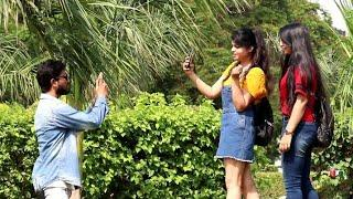Taking  Photos Prank On Cute Girls | Prank Star