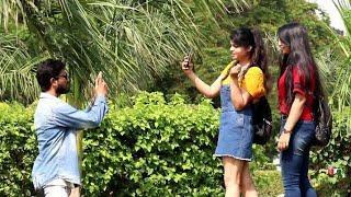 Taking  Photos Prank On Cute Girls | Prank Star