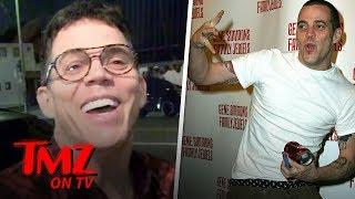 Steve O Gets Attacked By Vegans For Eating Fish | TMZ TV