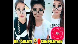 Cute Girl Musically DR. Gulati funny Compilation || cute love creation ||