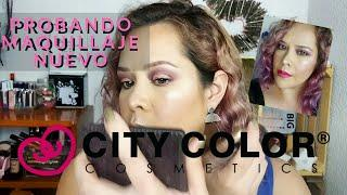 PROBANDO MAQUILLAJE NUEVO • CITY COLOR COSMETICS | MAQUILLAJE A LA MEXICANA