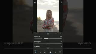 Tutorial edit foto peachy tone ala nabilasiruz mudah pakai Lightroom mobile