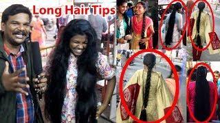 Tips from different long hair girls from Purasaivakkam chennai