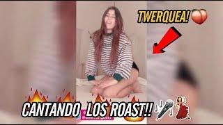 NICOLE GARCIA CANTA Y TWERQUEA LOS ROAST YOURSELF MÁS FAMOSOS!! | HB TOPS