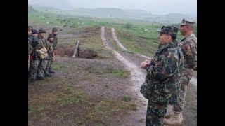 Ushtria Shqiptare Qitje Luftarake me Mortaja (Foto) 2018