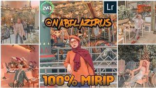 Cara edit foto ala selebgram @nabilazirus (FREE PRESET) - Lightroom Tutorial - Android & iOS