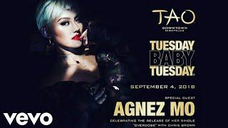 LIVE AT NYC || AGNEZ MO - Overdose ft. Chris Brown || Launching Premier at Tao Downtown NightClub