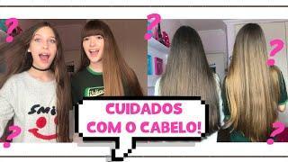 COMO CUIDAMOS DO NOSSO CABELO! | Hi Girls Sisters