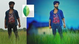 Snapseed Photo Manipulation 2018  || My Village Editing Tutorial || Village Lover Boy