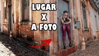 CRIANDO FOTOS TUMBLR EM LUGARES FEIOS - Ugly location challenge
