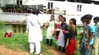 Janasena Pavan Kalyan intrect to boy and girl with photos