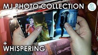 ASMR MJ Photo Collection, Whispering, Page Turning Sounds
