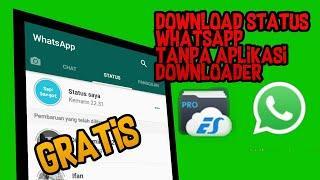 Cara Mendownload Status WhatsApp Tanpa Aplikasi Downloader | Tutorial Iseng