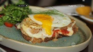 "Gurih-Gurih Gimanaaa Gitu ""Croque Madame With Egg"""