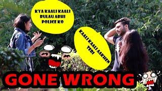 Staring prank at cute girls gone wrong ???? | Pranks in India