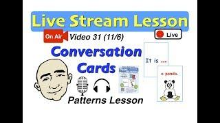 Mark Kulek Live Stream - Conversation Patterns | 31 | English for Communication - ESL