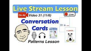 Mark Kulek Live Stream - Conversation Patterns | 31 | English for Communication - ESL