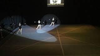 Zeestern Turnshow 2018 the girl is mine recrea trio Milane Capucine Léa zondag