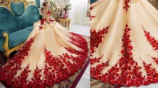 WOW ! Amazing Gown Dress Design Images / Photos Collection | New Gown Dress Pictures 2018