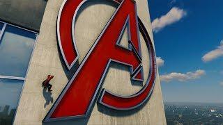 """Marvel's Spiderman 2018 guida trofeo """"L'olimpo degli eroi"""" (Torre degli Avengers) PS4 PRO"""