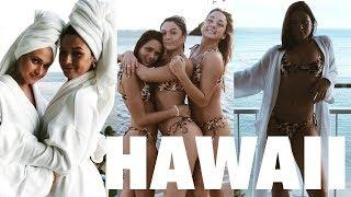 HAWAII: photo shoots, insane waterfront suite + my fav travel secrets to glowing skin!
