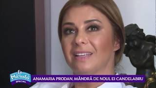 Anamaria Prodan, mandra de noul ei candelabru