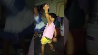 cute lovely baby dance