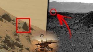 SILENCIADO! HOY Imagen de NASA Muestra Placa Metálica Con Circulo Perfecto en Marte, Extraterrestre?