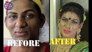 makeup tutorial BOY to girl transformation| didi international