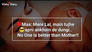 Maa special WhatsApp Status song video????Romantic love ringtone❤Love You Mom❤maa WhatsApp Status