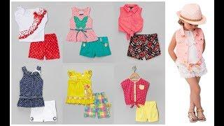 Cute baby girl summer clothes with cotton shorts=Little girl dress sets=Baby outfits
