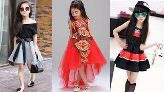 Stylish Little Girl Dress Design Images | New Trendy Dress | Fancy Dress For Girls 2018