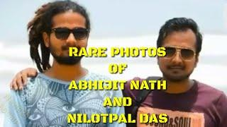 Rare Unknown Photo Collection of Nilotpal Das and Abhijit Nath