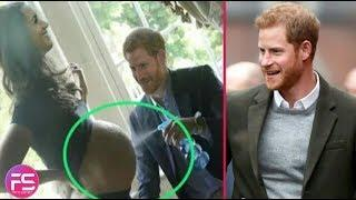 Did Prince harry accidentally reveal Royal baby #1's gender?