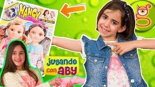 Salgo en la REVISTA NANCY ???? con ABY haciendo SLIME COMESTIBLE