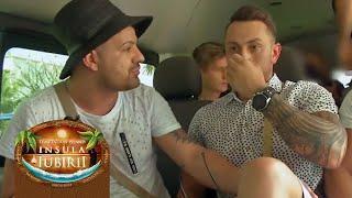"""Ceartă pe locul din microbuz, între Aurel și Costas: """"Nu ești băiat cu mine, ești fraier!"""""""