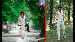 New Couple lover boy and girl picsart photo editing like dslr Photoshop boy an girl