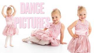 ADORABLE TODDLER DANCE PICTURES REVEALED | FIRST LITTLE GIRL DANCE PHOTOSHOOT