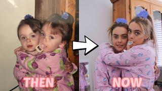 TWINS RECREATE THEIR ICONIC BABY PHOTOS! | Mescia Twins