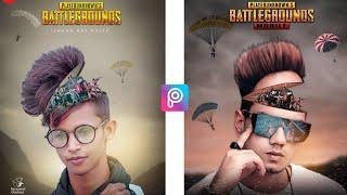 JB - सर पे चढ़ बैठा PUBG - PicsArt Pubg Game Special Photo Editing Tutorial - Pubg Poster HD Editing