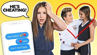 CAUGHT MY BOYFRIEND CHEATING Prank **Girlfriend REACTS** ???? | Piper Rockelle